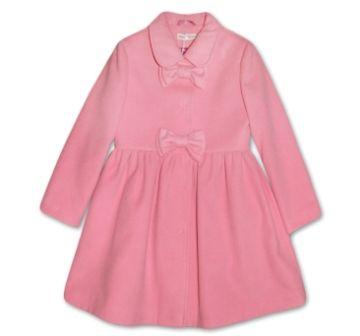 Пальто кашемир Бантики Розовый