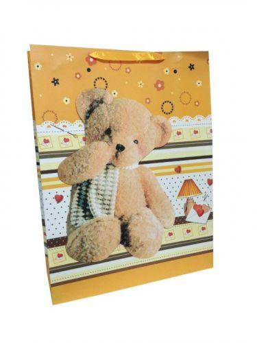 Пакет картон Большой медведь