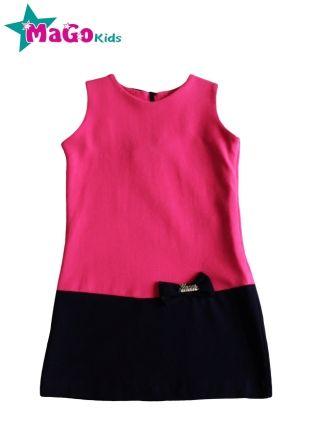 Платье Бантики Розовый