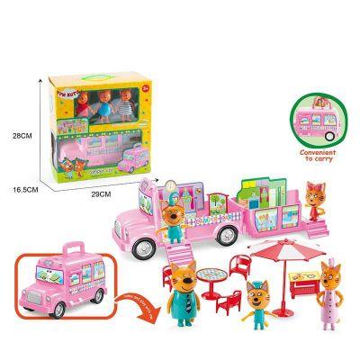 Игровой набор герои, автобус