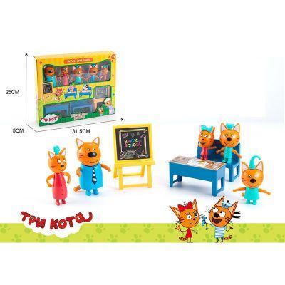 Игровой набор героев Три кота