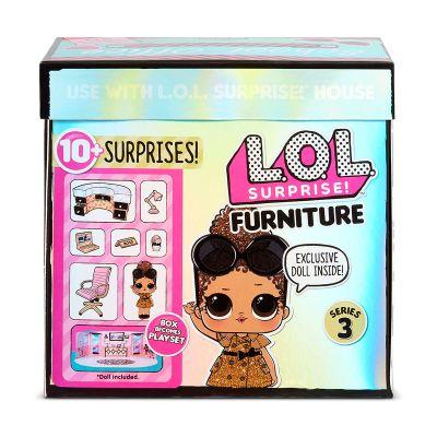 Игровой набор с куклой LOL SURPRISE серии Furniture S2