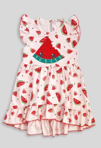 Платье Арбузик Коралловый