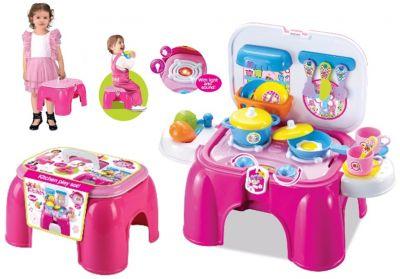 Детский игровой набор Кухня стульчик