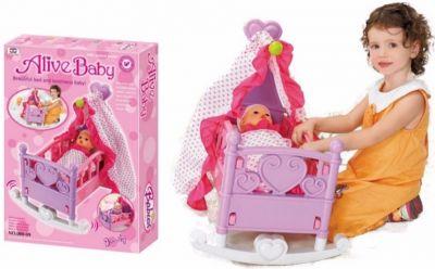 Кровать колыбель для куклы
