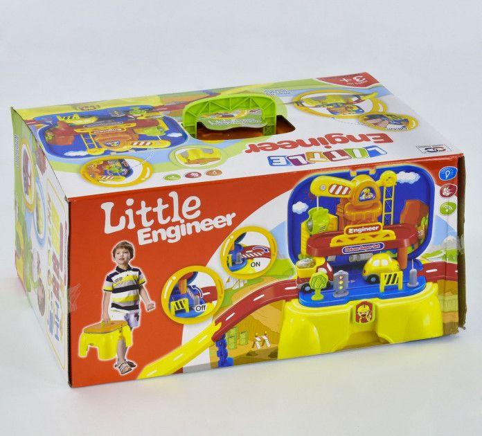 Детский игровой набор со строительным краном