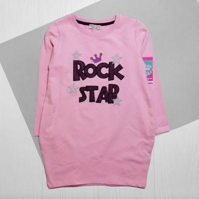 Туника Рок звезда Розовый