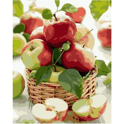 Набор для росписи по номерам Сочные яблоки