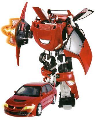 Робот-трансформер MITSUBISHI EVOLUTION VIII