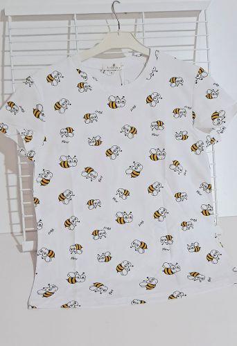 Футболка Пчелки Белый