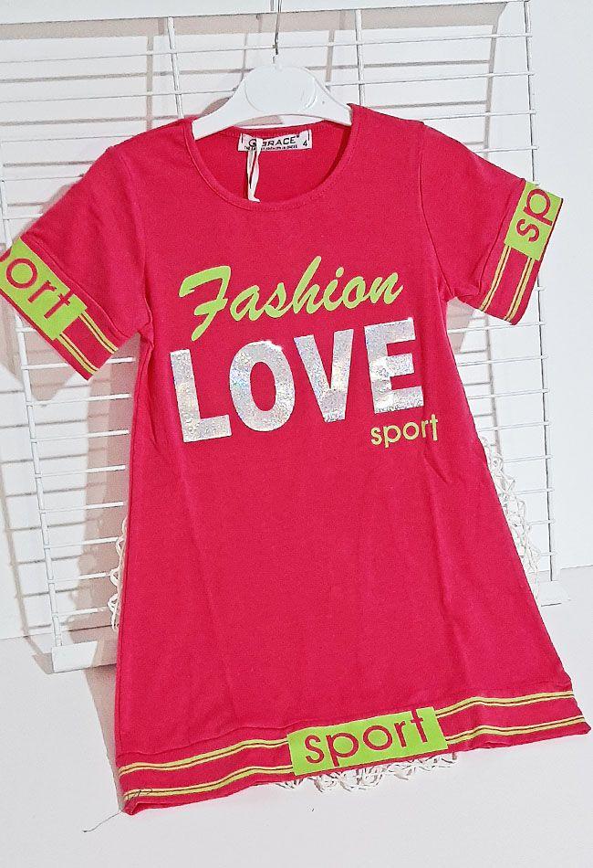 Сукня Sport LOVE Малиновый