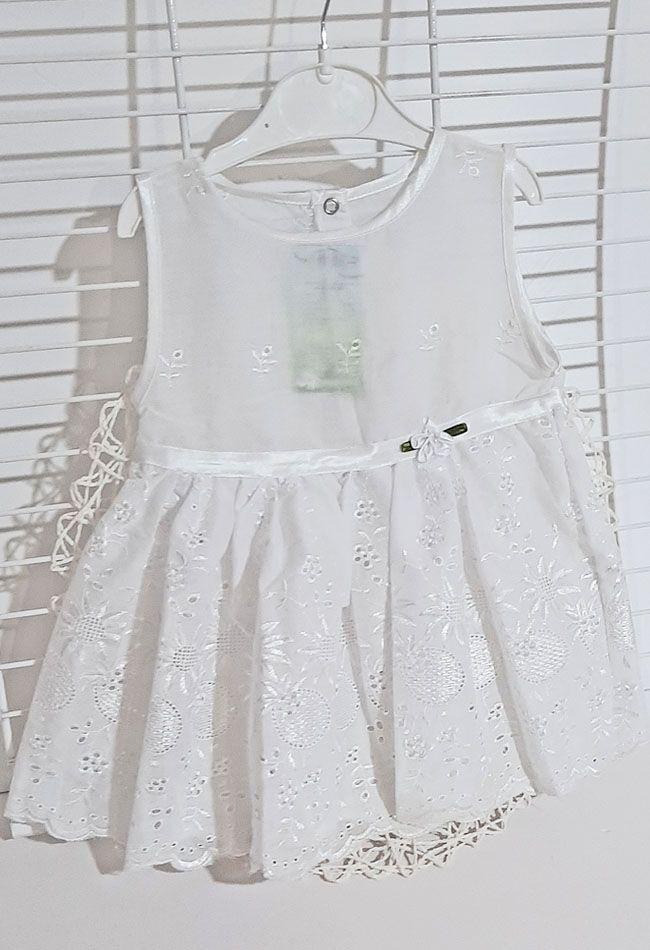 Платье Прошва Белый