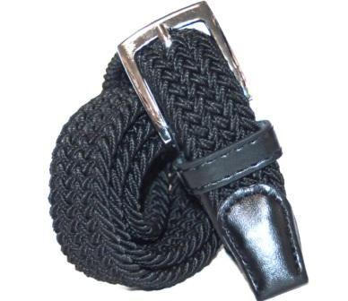 Пояс для мальчика резинка  Черный