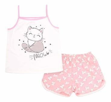 Пижама Meow Молочный