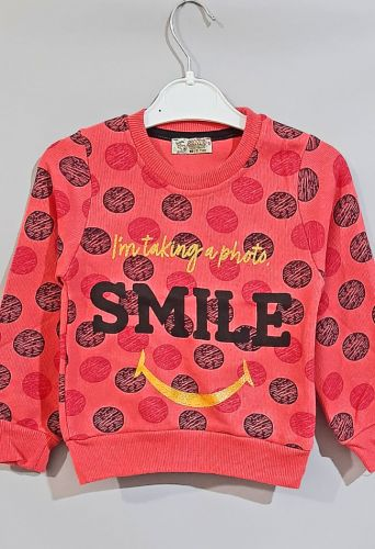 Джемпер Smile Коралловый