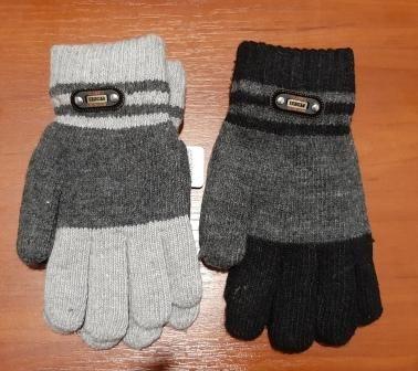 Перчатки Эмблема двойные Микс
