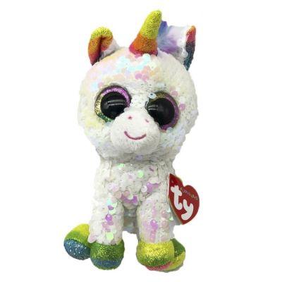TY игрушка мягконабивная Единорог PIXY 25см
