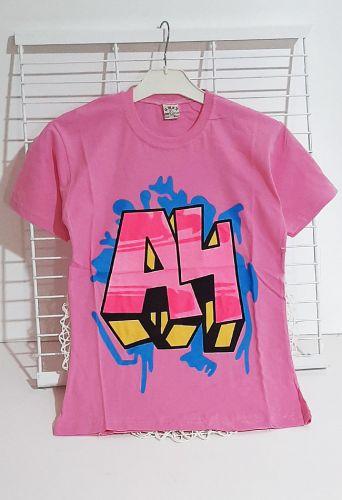 Футболка А4 Розовый