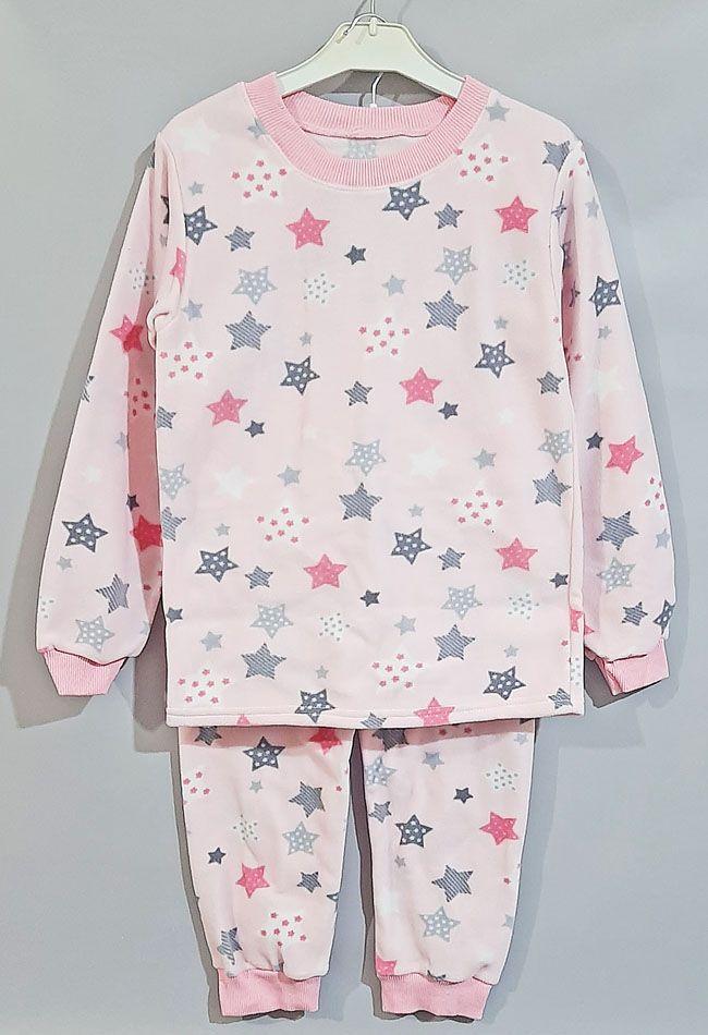 Пижама флис Розовый