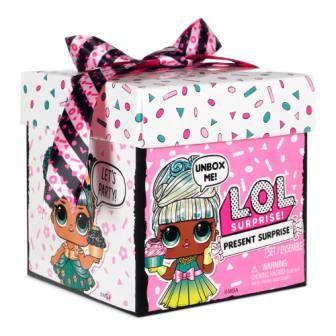 Игровой набор с куклой LOL SURPRISE серии Present Surprise
