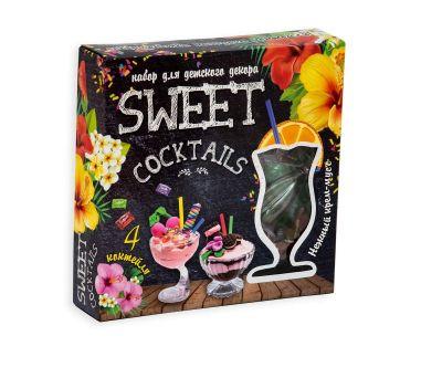 Набор для детского декора SWEET COCKTAILS