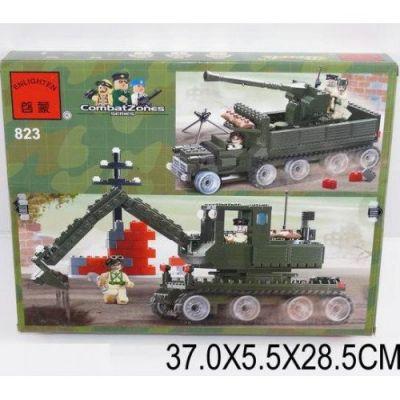 """Конструктор """"Brick Танк466 деталей, арт 823"""