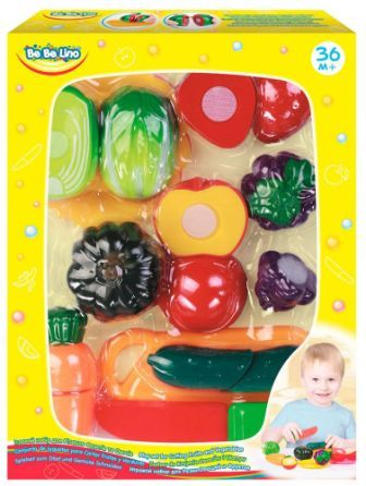 Игровой набор для резки овощей и фруктов