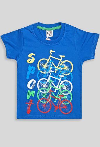 Футболка Велоспорт Синий