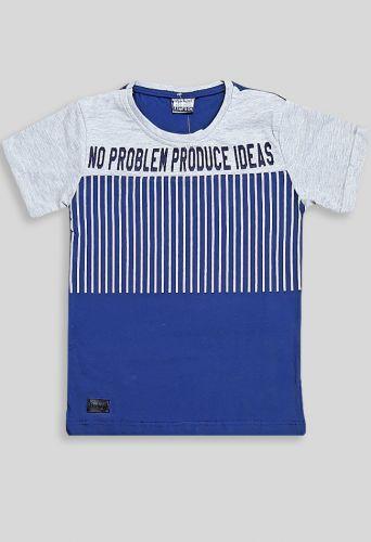 Футболка No problem Синий