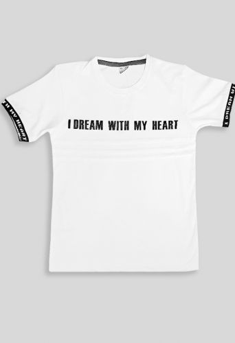 Футболка I dream with wy heart Белый