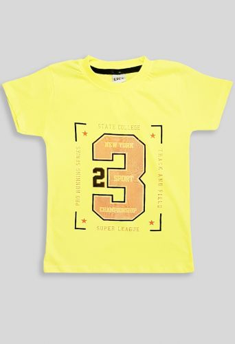 Футболка 23 Желтый