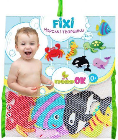 Набор для купания FIXI MIXI животные