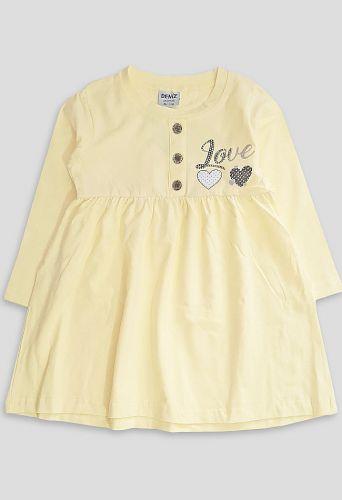 Платье LOVE Желтый