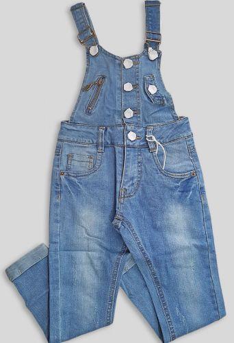 Кобинезон джинсовый Деним светлый