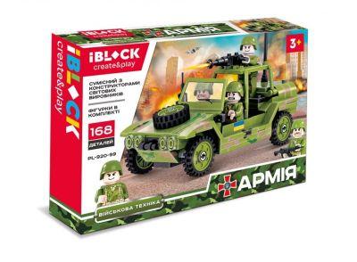 Конструктор IBLOCK АРМИЯ 168дет