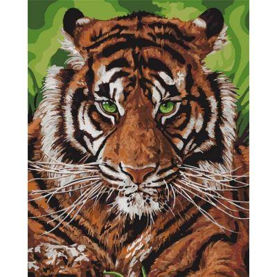 Набор для росписи по номерам Непобедимый тигр