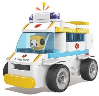 Конструктор PAI BLOKS RC Ambulance с Пультом ДУ 69 pcs