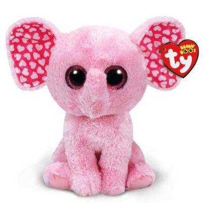 TY игрушка мягконабивная Слоненок Sugar 25см