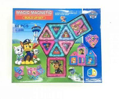 Конструктор магнитный MAGIC MAGNETIC арт JH6862C