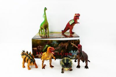 Животные резиновые Динозавры