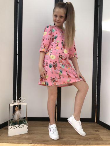 Платье Модняшки Розовый