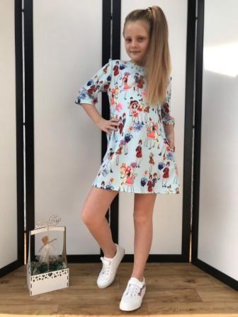 Платье Модняшки Голубой