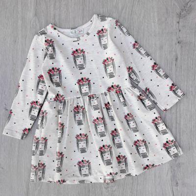 Платье Девочка в веночке Бежевый