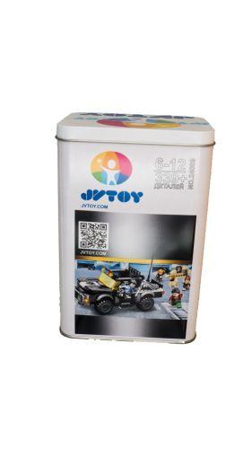 Конструктор JVToy Полицейский Джип 24009