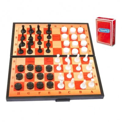 Шахматы 3 в 1  Максимус
