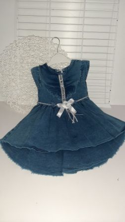 Платье джинс The best Деним светлый