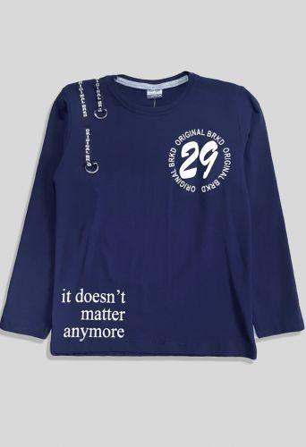 Джемпер 29, лента с накатом  Синий