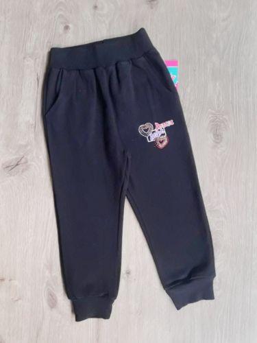 Спортивные брюки Love, паетки Синий темный