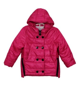 Куртка парка Пуговицы Розовый