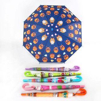 Зонтик цветной с совами